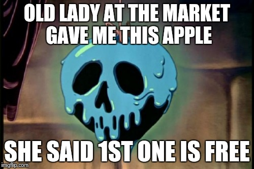 Funny Apple Meme : Adventures in drugland imgflip