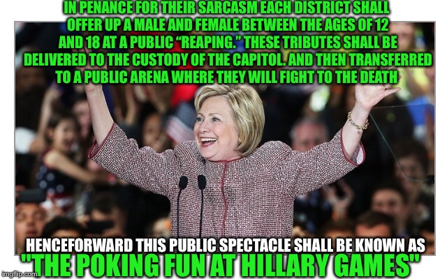 "One does not criticize the people of the Capitol  | IN PENANCE FOR THEIR SARCASM EACH DISTRICT SHALL OFFER UP A MALE AND FEMALE BETWEEN THE AGES OF 12 AND 18 AT A PUBLIC ""REAPING."" THESE TRIBU 