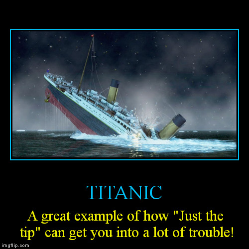 "When you go ""boating"" wear your vest! 