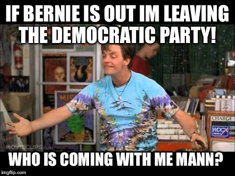 Leaving Democratic Party - Imgflip