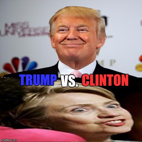 VS. TRUMP CLINTON | made w/ Imgflip meme maker