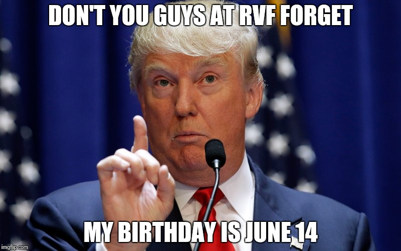 graphic relating to Donald Trump Birthday Card Printable named Trumps Birthday - June 14, 1946 - Send out A Card - Printable