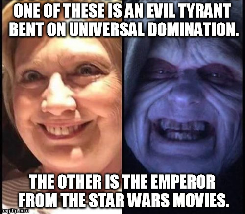 "Still, replacing ""Hail to the Chief"" with the ""Imperial March"" might be cool  
