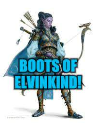 BOOTS OF ELVINKIND! | made w/ Imgflip meme maker
