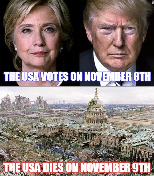 Funny Memes For November : Trump hilary imgflip