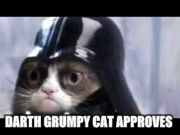 DARTH GRUMPY CAT APPROVES | made w/ Imgflip meme maker