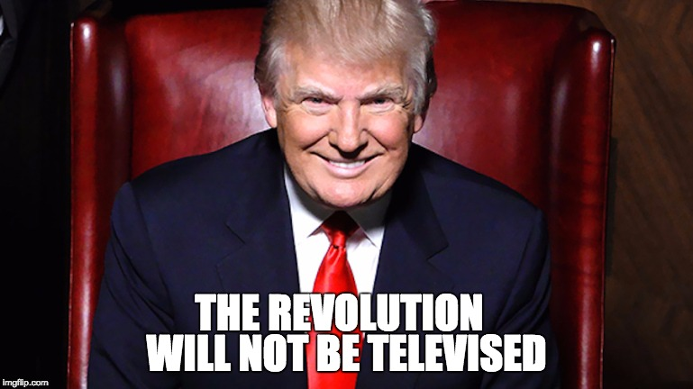 the revolution will not be televised The revolution will not be televised is a poem and song by gil scott-heron scott-heron first recorded it for his 1970 album small talk at 125th and lenox.