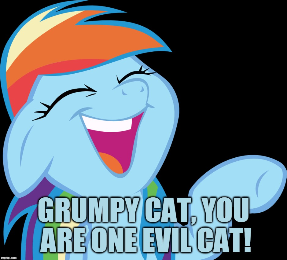 GRUMPY CAT, YOU ARE ONE EVIL CAT! | made w/ Imgflip meme maker