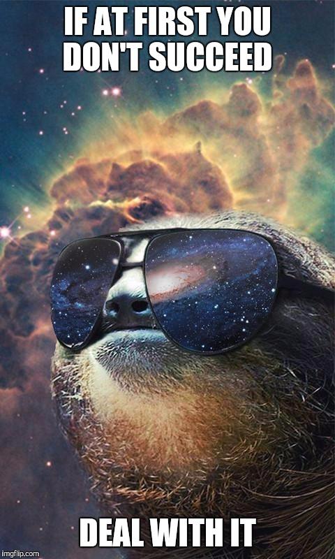 Spacesloth imgflip - Sloth wallpaper phone ...