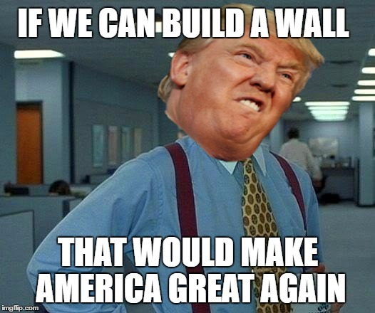 Funny Donald Trump Wall Memes : I am not affiliated with trump imgflip