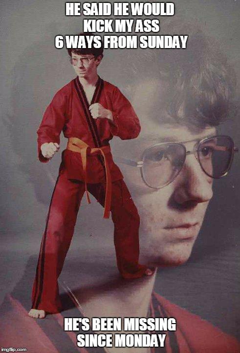Karate Kyle Memes Imgflip – Missing Person Poster Generator