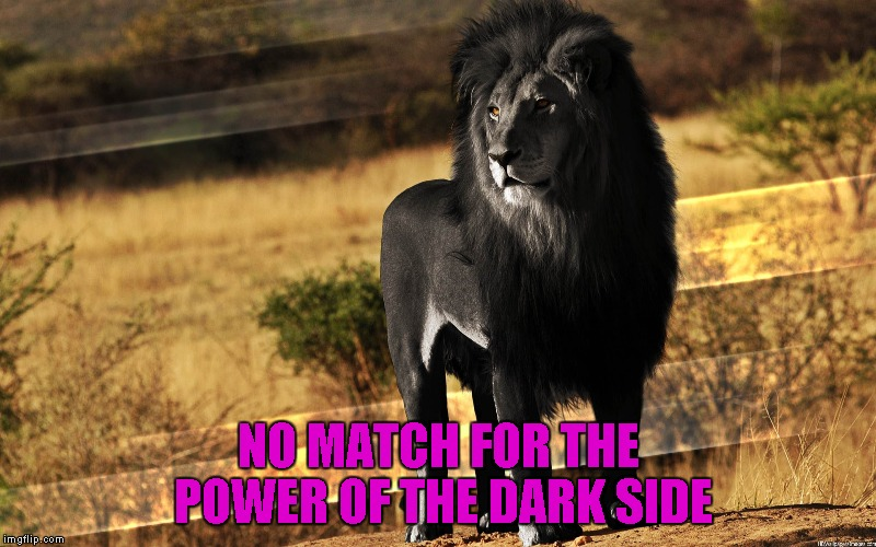 NO MATCH FOR THE POWER OF THE DARK SIDE | made w/ Imgflip meme maker