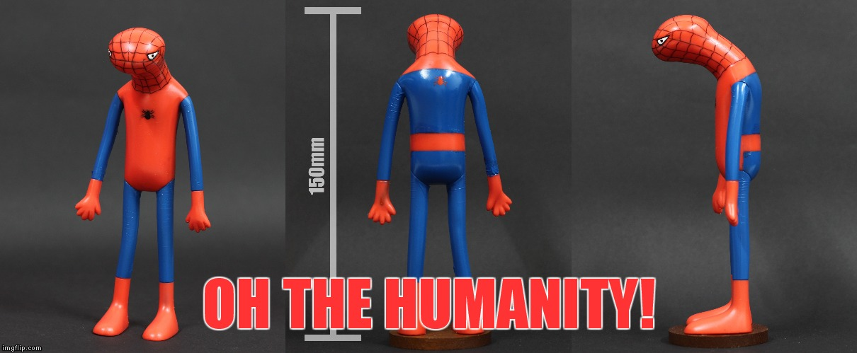 OH THE HUMANITY! | made w/ Imgflip meme maker
