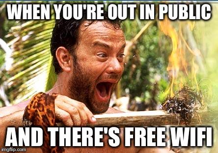 161omf castaway fire meme imgflip