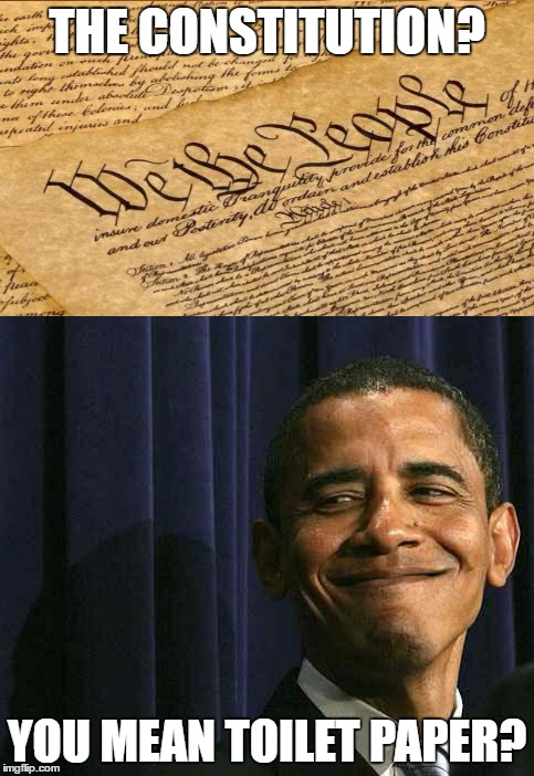 THE CONSTITUTION? YOU MEAN TOILET PAPER? | made w/ Imgflip meme maker