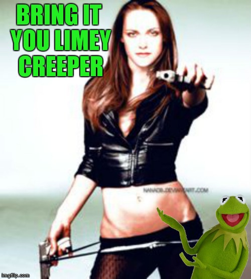 BRING IT YOU LIMEY CREEPER | made w/ Imgflip meme maker