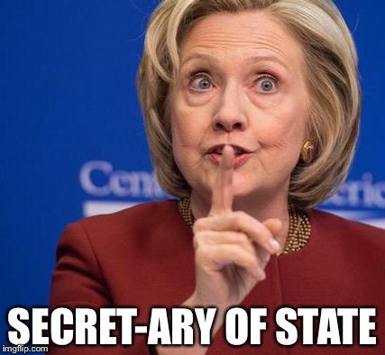 Hillary Shhhh Imgflip