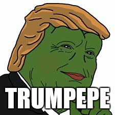 Pepe Trump | TRUMPEPE | image tagged in pepe trump | made w/ Imgflip meme maker