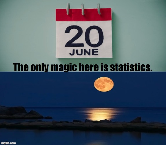 There is no magic today. | image tagged in fun,sostice,full moon,funny | made w/ Imgflip meme maker