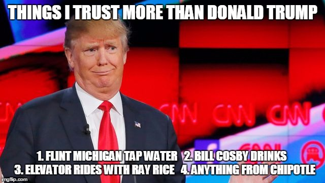 166dww don't trust donald trump imgflip