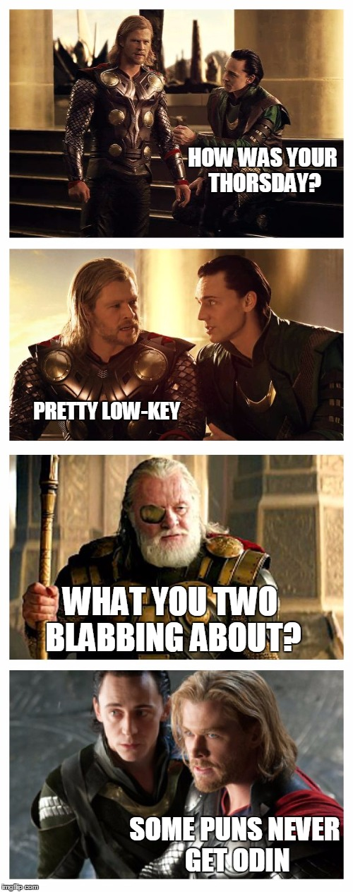 166j3d just another day in asgard imgflip,Odin Meme