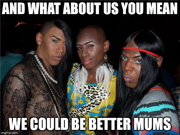 AND WHAT ABOUT US YOU MEAN WE COULD BE BETTER MUMS | made w/ Imgflip meme maker