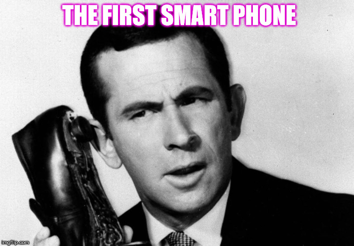 THE FIRST SMART PHONE | made w/ Imgflip meme maker