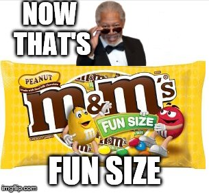 NOW THAT'S FUN SIZE | made w/ Imgflip meme maker