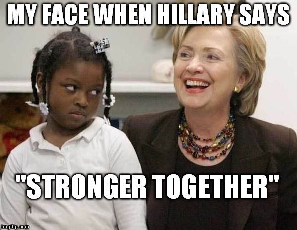 "Hot Sauce in My Purse | MY FACE WHEN HILLARY SAYS ""STRONGER TOGETHER"" 