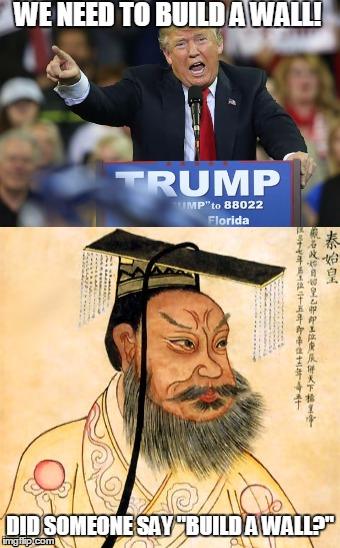 Donald Trump vs Qin Shi Huang Di - Imgflip