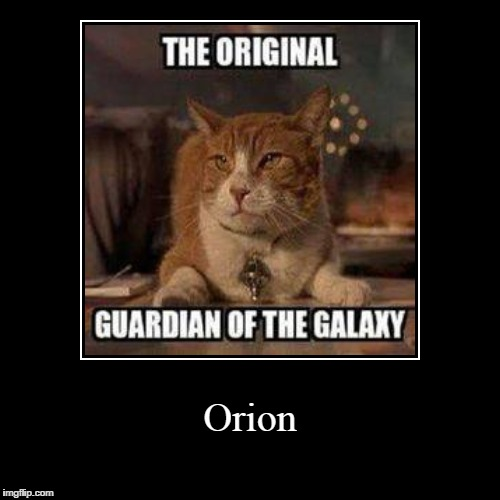 Orion | | image tagged in funny,demotivationals | made w/ Imgflip demotivational maker