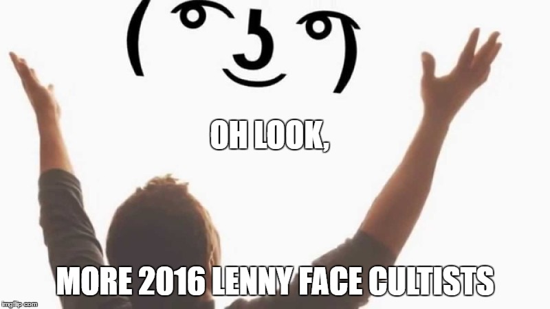 lenny face - Imgflip