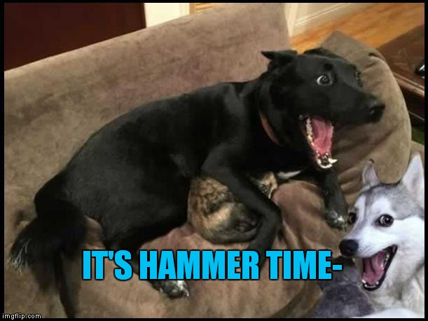 IT'S HAMMER TIME- | made w/ Imgflip meme maker