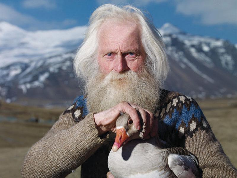 iceland duck old guy beard Blank Template - Imgflip