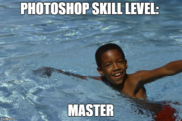 how to make blur meme on photoshop