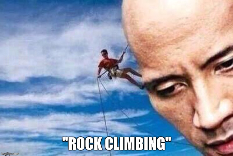 "Rock Climbing(get it) | ""ROCK CLIMBING"" 