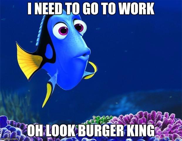 Risultati immagini per gif dory burger king