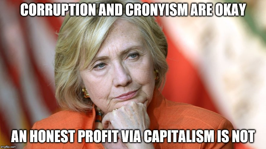 "Have you ever Googled ""Clinton Scandals List""? The corruption and cronyism are so rampant, it's considered normal. 