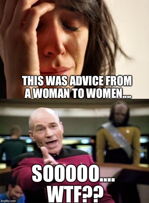 Actual sexual advice girl meme photos 87