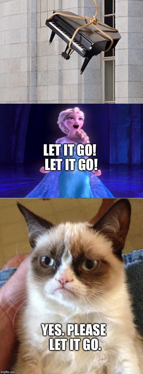 Yes Meme Cat Elsa vs. Grumpy Cat - ...