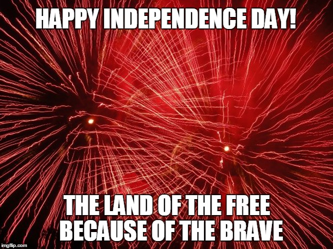 FIREWORKSJULY4 | HAPPY INDEPENDENCE DAY! THE LAND OF THE FREE BECAUSE ...