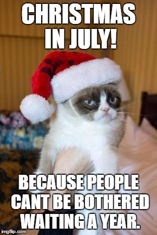 Christmas In July Cat Meme.Grumpy Cat Christmas Meme Imgflip