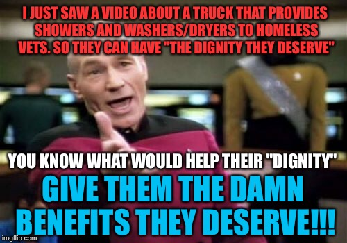 "I agree this is a wonderful service and badly needed but....you can't hide the problem with zest, suave, and tide !!! | I JUST SAW A VIDEO ABOUT A TRUCK THAT PROVIDES SHOWERS AND WASHERS/DRYERS TO HOMELESS VETS. SO THEY CAN HAVE ""THE DIGNITY THEY DESERVE"" YOU  