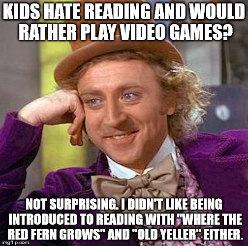 "If my brother never read ""The Hobbit"" to me as a kid, I would never have read books, and I wouldn't want to be a novelist. 