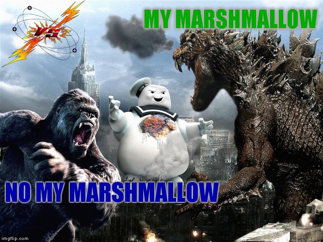 MY MARSHMALLOW NO MY MARSHMALLOW | made w/ Imgflip meme maker