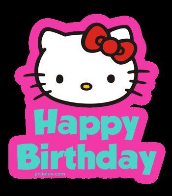 hello kitty happy birthday blank template imgflip