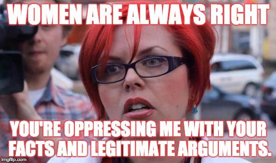 16tjof angry feminist memes imgflip