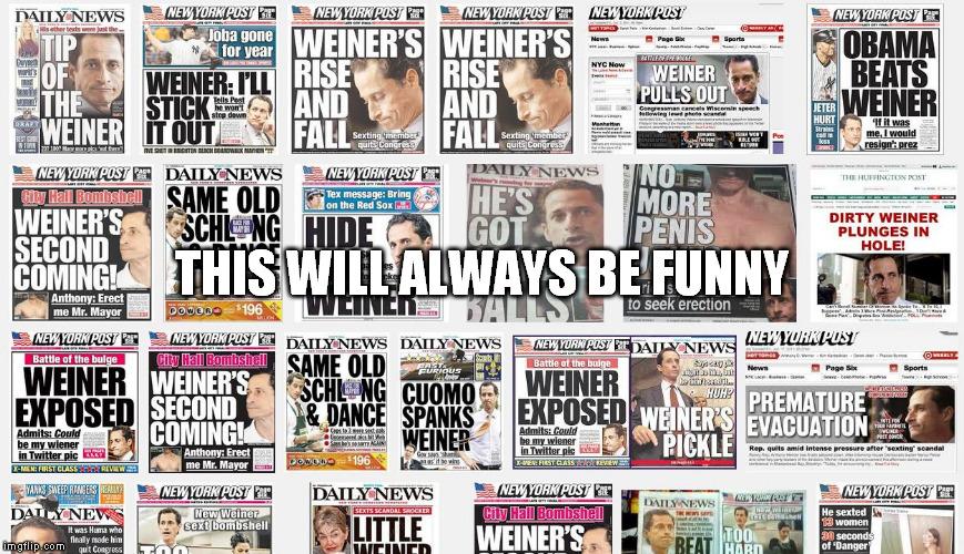 16tlv6 anthony weiner headlines imgflip