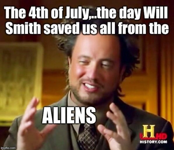 """SPOILER ALERT""Will Smith saves the world!!! 