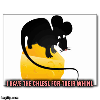 I HAVE THE CHEESE FOR THEIR WHINE | made w/ Imgflip meme maker